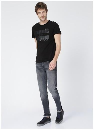 Black On Black Black On Black Koln Siyah Erkek T-Shirt Siyah